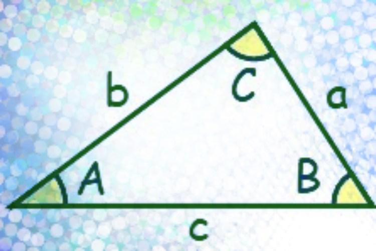 Треугольник к теореме косинусов