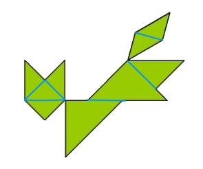 Фигура из треугольников