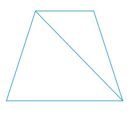 трапеция из треугольников