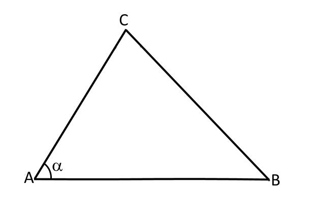 Треугольник АВС к теореме косинусов