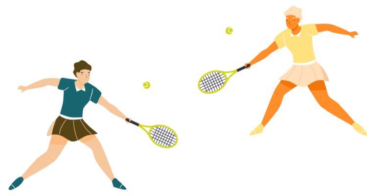 чемпионата по теннису участников разбивают на игровые пары