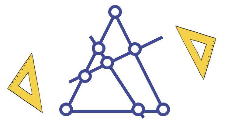 Разрезать треугольник можно так